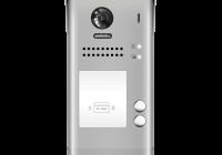 DT607-ID-S2 * Panou video color de apel exterior, cu conexiune pe 2 fire, camera WIDE ANGLE 170°, pentru doi abonati