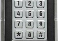ECK-02A * Sistem de acces cu actionare prin cod