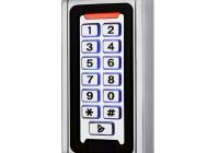 ECK-07 * Dispozitiv de acces stand alone cu actionare prin cartela de proximitate sau cod