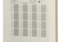 FP2864C-99 * Centrala adresabila de alarmare la incendiu, 2-8 bucle x 128 adrese, afisaj LCD 8x40 caractere, 16-64 zone, avizata VdS, CPD