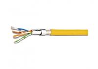 HKF2SFUYP1 * Cablu flexibil SF/UTP Cat.5 200MHz 4x2xAWG26 PVC galben