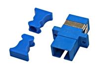 HMOL000055 * Cuplă FO SC-Simplex, plastic, Singlemode zirc, albastru