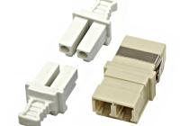 HMOL000103 * Cuplă FO LC-Duplex, Multimod phbr, gri