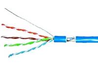 HSEKF424PP * Cablu F/UTP Cat.5e, 4x2xAWG24/1, PVC, albastru