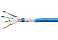 HSEKP422HB * Cablu S/FTP Cat.7a 4x2xAWG22/1, 1.200Mhz LS0H-3,50% albastru