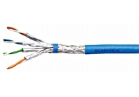 HSEKP423HB * Cablu S/FTP Cat.7, 4x2xAWG23/1, 1.000Mhz, LS0H, 40%, albastru