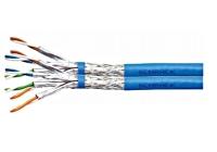 HSEKP822HB * Cablu S/FTP Cat.7a 2x(4x2xAWG22/1), 1.2Ghz LS0H-3,50% albastru