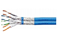 HSEKP823HB * Cablu S/FTP Cat.7, 2x(4x2xAWG23/1), 1.0Ghz LS0H 40%, albastru