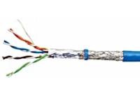 HSEKS424PP * Cablu SF/UTP Cat.5e, 4x2xAWG24/1, PVC, albastru