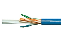 HSEKU423P1 * Cablu U/UTP Cat.6, 4x2xAWG23/1, 300MHz, PVC, albastru