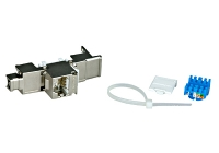 HSEMRJ6GBA * Modul TOOLLESS LINE RJ45 ecranat, Cat.6a 10GB (SFB)