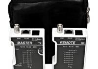 HSETEST01S * Tester conexiune cablare structurata si coaxial