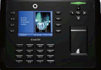 ICLOCK-700 * Controler de acces biometric cu functie de pontaj si camera foto incorporata