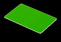 IDT-1001EM-C-gn * Cartele de proximitate cu cip EM4100 (125KHz) verzi, fara cod printat