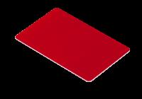 IDT-1001EM-C-rd * Cartele de proximitate cu cip EM4100 (125KHz) rosii, fara cod printat