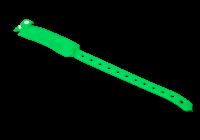 IDT-4010EM-GN * Bratara verde RFID de unica folosinta cu cip EM 125kHZ