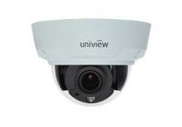 IPC342E-VIR-Z-IN Cameră de supraveghere video IP hemisferică fixă (Dome) varifocală (motorizată) de 2MP pentru lumină slabă, cu infraroșu (IR), protecție contra distrugerilor