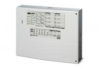J-408-4 * Centrala conventionala 4 zone, maxim 32 detectori / zona, sursa inclusa, incarcare 2 acumulatori 7Ah