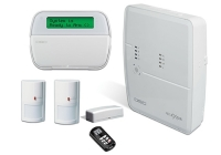 KIT ALEXOR * Kit centrala ALEXOR, tastatura WT5500, 2 detectori WLS904, telecomanda LCD WT 4989, contact magnetic WLS4945, acumulator si transformator