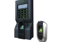 KIT-FPAP-8 KIT * de control acces si pontaj cu amprenta (controler plus cititor suplimentar)