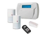 KIT IMPASSA * Kit centrală IMPASSA, tastatura LCD incorporata, 2 detectoare WLS 4904, telecomandă LCD WT 4989, contact magnetic WLS 4945, acumulator si transformator, opțiune comunicator 3G