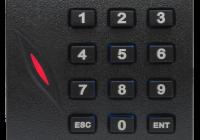 KR-102M * Cititor de proximitate RFID (MIFARE 13.56MHz) cu tastatura; pentru centrale de control acces