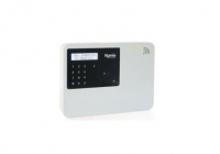 KSI0096000.332 * Centrala compacta wireless Lares WLS 96-IP, cu tastatura Ergo S neagra, 4 partitii, 96 zone wireless, 4 zone cablate, 16 iesiri