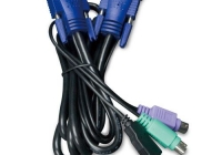 KVM-KC1-5 * 5M USB KVM Cable with built-in PS2 to USB Converter