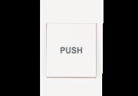 PBK-812B * Buton de iesire aplicabil, din plastic NO/NC