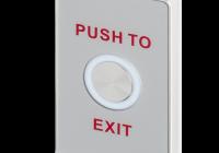 PBS-821A(LED) * Buton de iesire aplicabil, piezolectric, cu led de stare