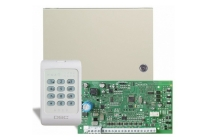 PC 1404 * Centrala alarma DSC [4 zone, 8 cu dublare / 1 partitie / 40 utilizatori]