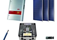 PVS41615 * Modul Piko 4.4 3f, 16 mod., clasa I, MC4, cablu 4mmp