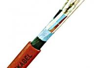 ROXC200025 * Cablu telec.ignif.fără hal. JE-H(ST)H 2x2x0,8 E60 rosu