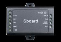 S-BOARD * Modul de control acces pentru o usa uni-directionala