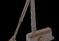 SA-5044AW-bn * Amortizor hidraulic cu brat, pentru usi de 60-85kg, maro