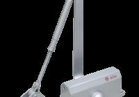 SA-5044AW-sv * Amortizor hidraulic cu brat, pentru usi de 60-85kg, argintiu