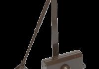 SA-6033AW-bn * Amortizor hidraulic cu brat, pentru usi de 40-65kg, maro