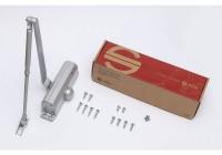 SA-6033AW-sv * Amortizor hidraulic cu brat, pentru usi de 40-65kg, argintiu