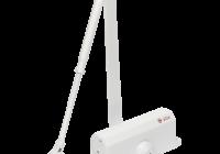SA-6033AW-wh * Amortizor hidraulic cu brat, pentru usi de 40-65kg, alb