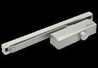 SA-8023-sv * Amortizor hidraulic cu sina, pentru usi de 40-65kg, argintiu