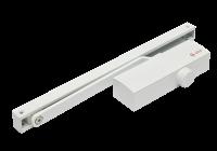 SA-8023-wh * Amortizor hidraulic cu sina, pentru usi de 40-65kg, alb