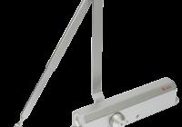 SA-903-6CW-sv * Amortizor hidraulic cu brat, pentru usi de 60-150kg, argintiu