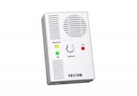 SECOR 2000 * Detector de Gaz Metan, Monoxid de carbon, sirena incorporata, 220V