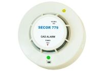 SECOR 779 * Detector de gaz metan, de tavan, 12V AC/DC - 24V AC/DC