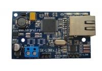 SKLINK * Modul de comunicare pentru centralele de tip DSC care suportă T-LINK