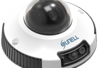 SN-IPV54/14ZDR * Camera video IP tip dome pentru exterior, 2MP, IR