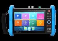 "T-9800MADH+ * Tester CCTV 7"" HD-TVI / HD-CVI / AHD / CVBS / IP - 4K, H.265 - multimetru digital"