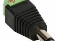 TT-BC01 * Conector alimentare cu mufa male