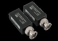 """UTP101P-HD1 * Balun video HD pasiv cu protectie si bloc terminal tip """"push"""", cu mufa BNC"""