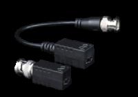UTP101P-HD3 * Pereche balun video HD pasiv cu protectie si BNC-F / conector cu suruburi